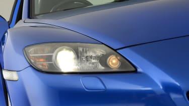 Mazda RX-8 headlight