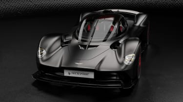 Aston Martin Valkyrie Q by AM - black front