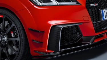 Audi performance parts - TT RS front detail