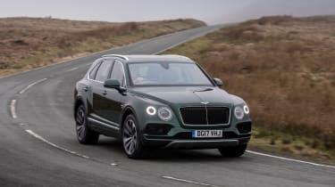Bentley Bentayga Diesel - front cornering
