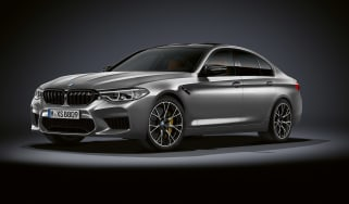BMW M5 Competition - front quarter