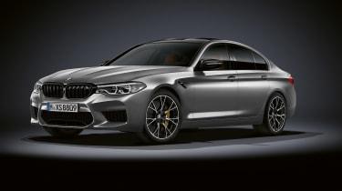 BMW M5 Competition - front quarter