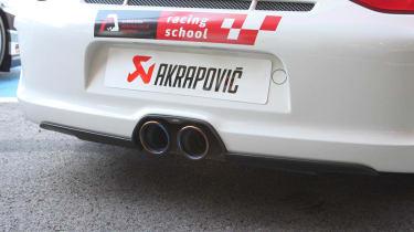 Akrapovic exhaust event at Portimao