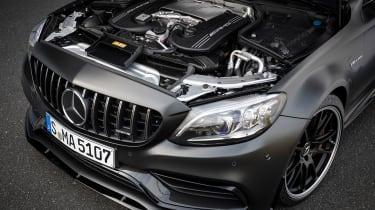 2019 Mercedes-AMG C63 – engine