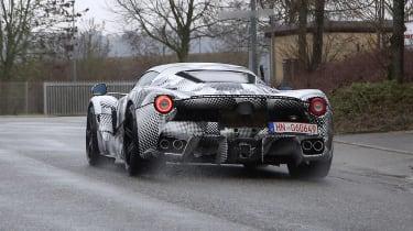 2021 Ferrari hybrid hypercar prototype - rear 2
