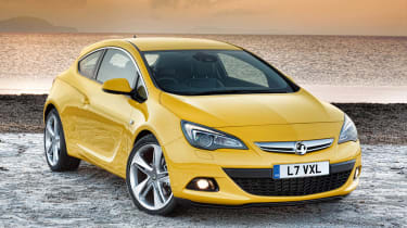 Vauxhall Astra GTC coupe news and pictures