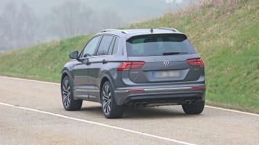 Volkswagen Tiguan R spy - rear