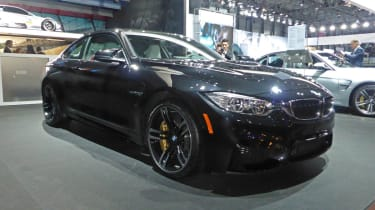 BMW M4 Coupe New York motor show