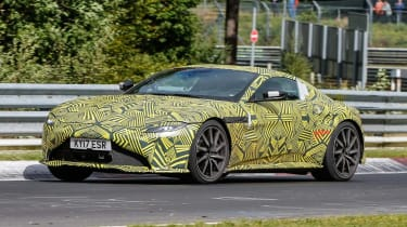 Aston Martin V8 Vantage spy - front