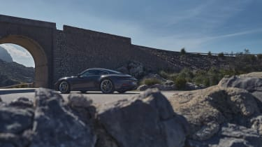 Porsche 911 GT3 Touring – rear quarter