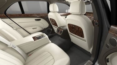 Bentley Mulsanne rear interior