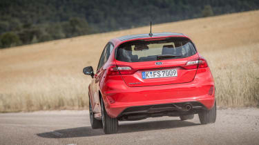 Ford Fiesta ST-Line - Driving rear 2
