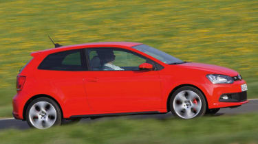 VW Polo GTI panning