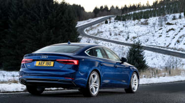 Audi A5 Sportback S-Line - rear static