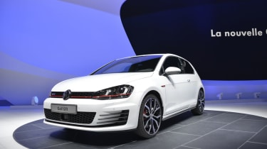 VW Golf GTI news and live show pictures
