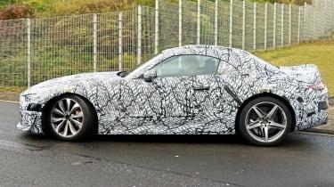 Mercedes SL spy - side
