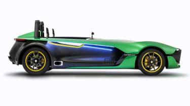 Caterham AeroSeven Concept sports car side profile