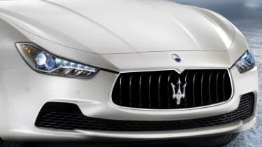 New Maserati Ghibli front grille