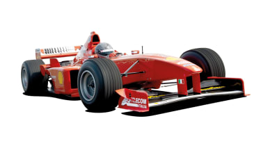 10 best manuals: Ferrari F300 F1 car
