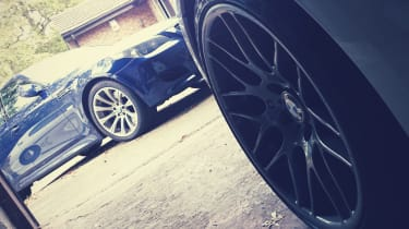 New Michelin tyres on the Z4M Coupe