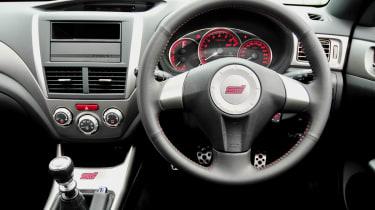 Subaru Impreza WRX STi Spec C dashboard