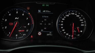 Hyundai i30 N prototype - dials