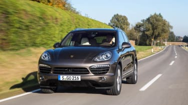 Porsche Cayenne S Diesel review and pictures