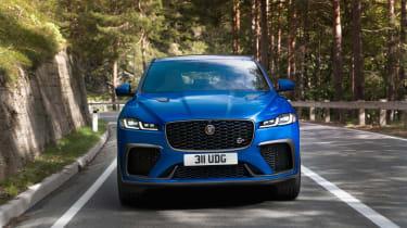 Jaguar F-Pace SVR 2021 nose