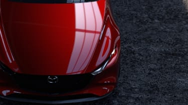 Mazda Kai Concept – front profile