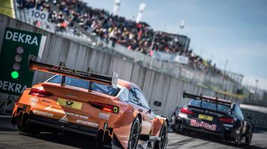 DTM Round 8 Austria - Audi RS5 pits