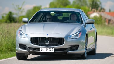 2013 Maserati Quattroporte S V6 front