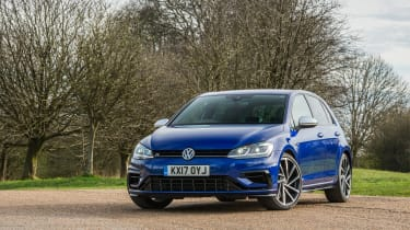 Volkswagen Golf R - front three quarter