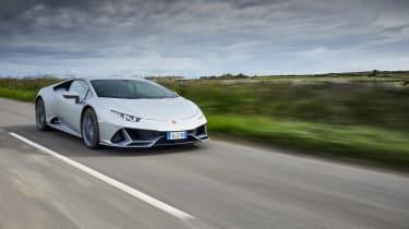 Lamborghini Huracan EVO - tracking