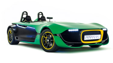 Caterham aero seven in evo Magazine: December 2013