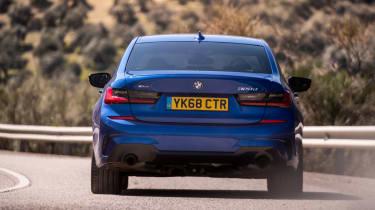 BMW 320d M Sport 2019 rear