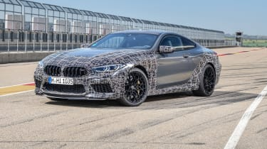 BMW M8 Competition prototype - front