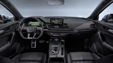 Audi SQ5 TDI 2019 - dash