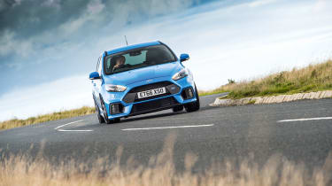 Ford Focus RS – cornering