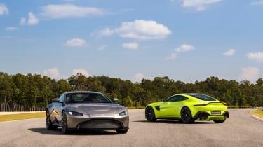 Aston Martin Vantage - pair tracking 5