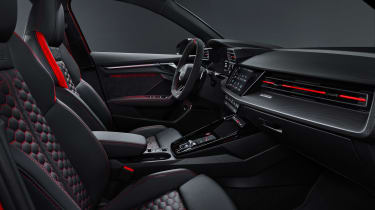 2021 Audi RS3 Sportback –cabin