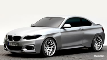 BMW M235i Racing teaser picture