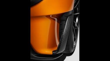 McLaren 600LT full specs - bumper cut otu