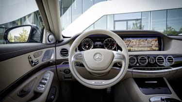 Mercedes S65 AMG steering wheel