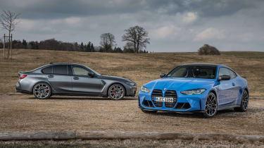 BMW M3/4 Competition xDrive staticBMW M3/4 Competition xDrive