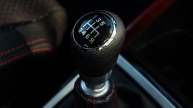 Suzuki Swift Sport - gear lever
