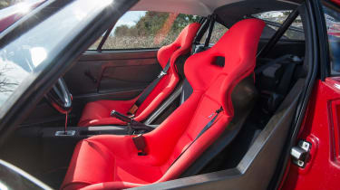 Ferrari turbos 488 F40 - seats