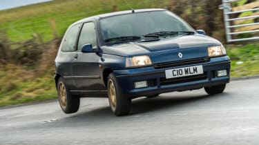 Renault Clio Williams - tripod