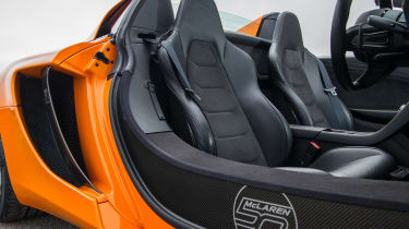 Mclaren 12C Spider – carbon tub