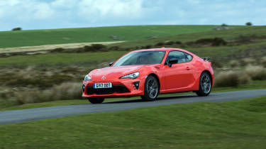 Toyota GT86 Orange Edition front three-quarters