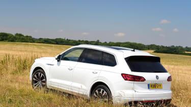 Volkswagen Touareg UK drive - rear static